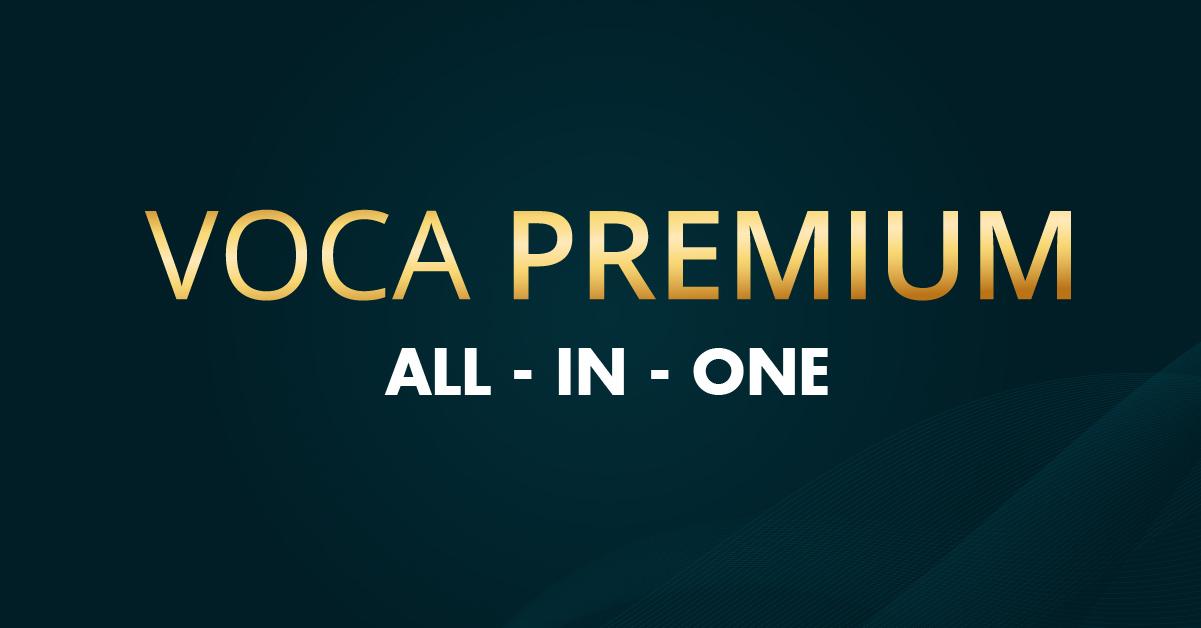 Ra mắt tài khoản cao cấp: VOCA Premium