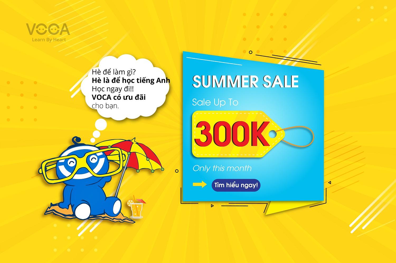 Summer Sale 2019: Vui hè rộn ràng - Ngập tràn ưu đãi từ VOCA