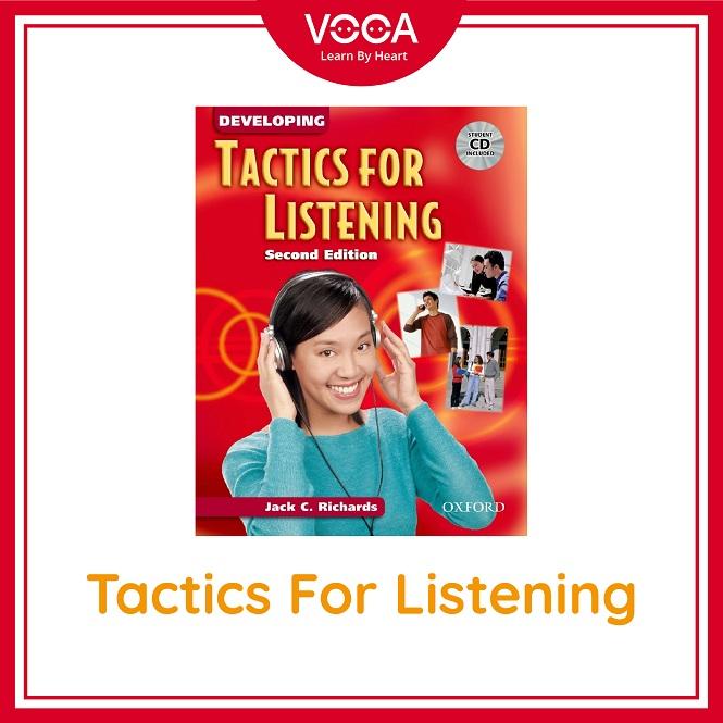 Giáo trình Tactics For Listening: Rèn luyện kỹ năng nghe