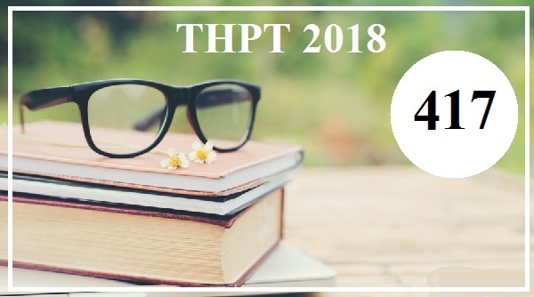 Giải đề thi tiếng Anh THPT Quốc gia năm 2018 (Mã đề 417)