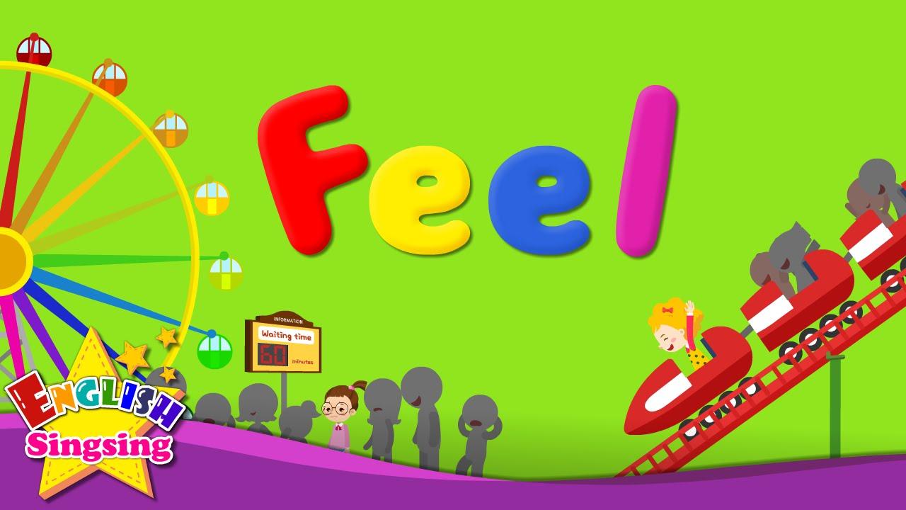 Tiếng Anh trẻ em | Học từ vựng chủ đề: Cảm xúc
