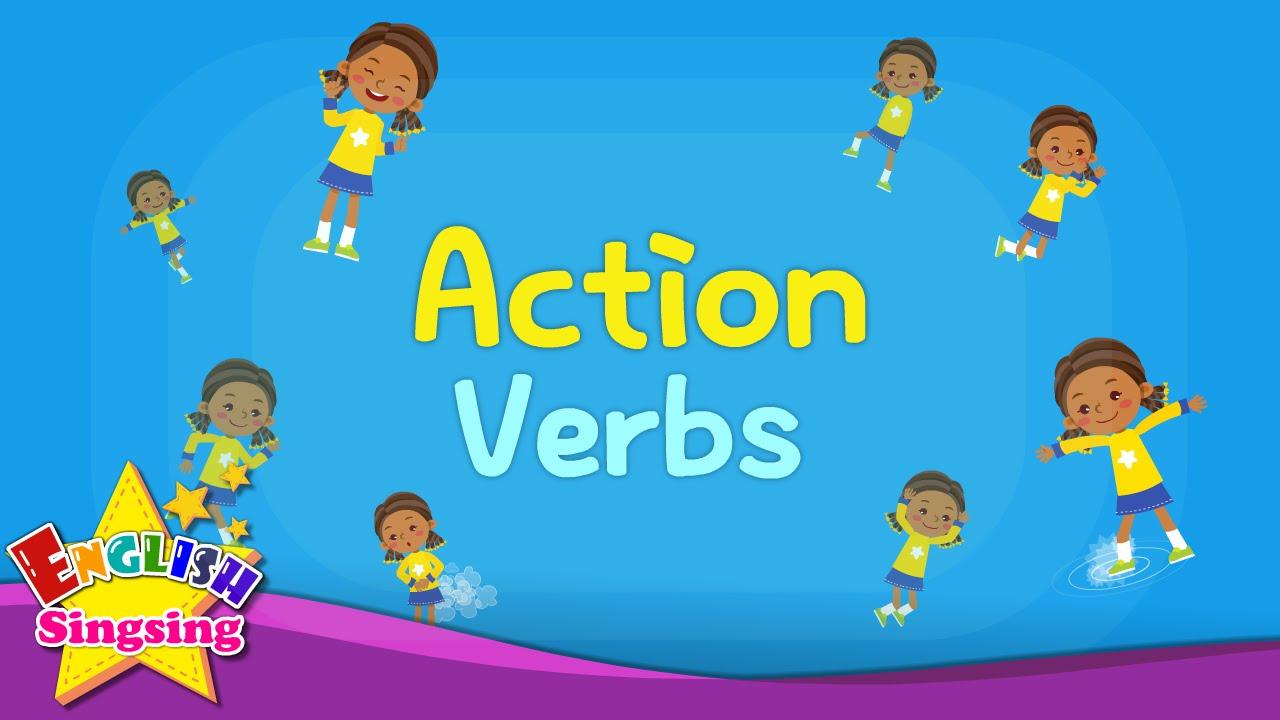Tiếng Anh trẻ em | Học từ vựng chủ đề: hành động