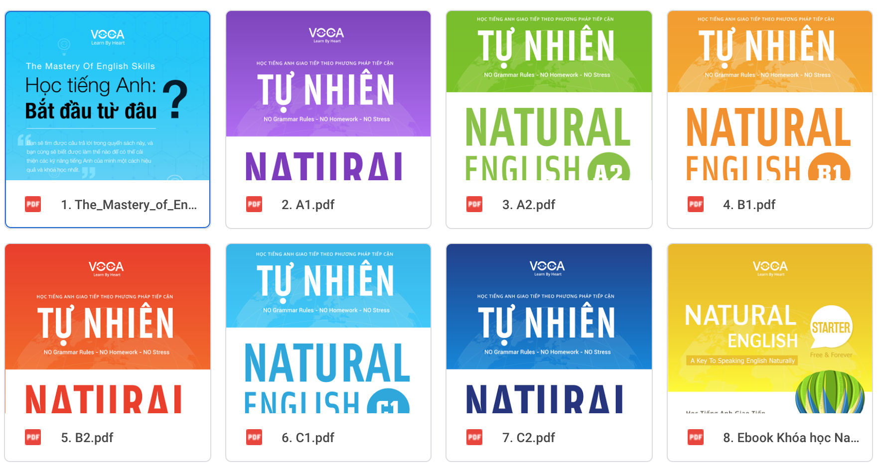 Truyền tay 10 tài liệu tự học tiếng Anh giao tiếp miễn phí & hiệu quả