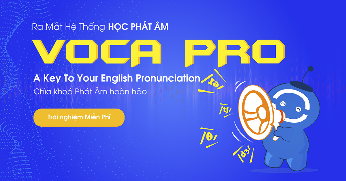 VOCA PRO 2019: A KEY TO YOUR ENGLISH PRONUNCIATION