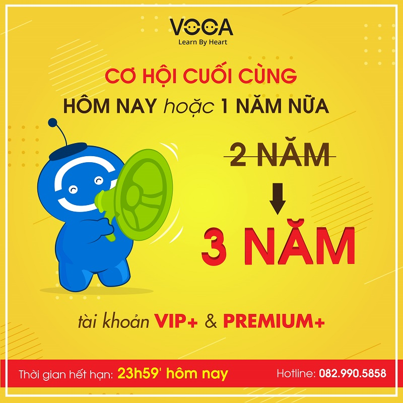 voca promoyion